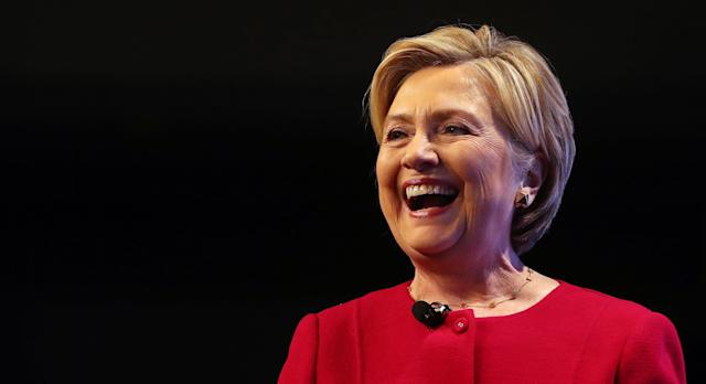 HRC laughing in the face of sexism.