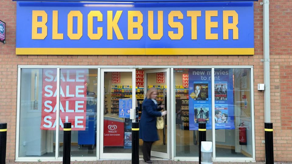 Blockbuster store going out of business