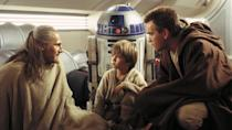 <p> The Phantom Menace gets a whole lot wrong. There's Jake Lloyd's unfortunatley annoying performance as Anakin; there are multiple alien designs that are vaguely racist caricatures; Jar-Jar Binks exists. Yet, there are also some really great elements to Episode 1 that should not be overlooked. </p> <p> Regardless of your feelings towards the Gungans, Naboo's verdant rainforests, Atlantean underwater cities, and utopian palaces serve as gorgeous backdrops that expand the Star Wars universe. The podracing scene is a fun take on Ben-Hur's timeless chariot race. And the grand finale lightsaber duel is phenomenal. Darth Maul and his double-bladed lightsaber versus Qui-Gon and Obi-Wan is easily one of the greatest fight scenes in the entire series. </p>