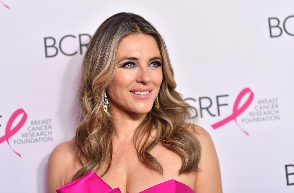 Elizabeth Hurley, 55, and her big sister stun in bikini throwback photo