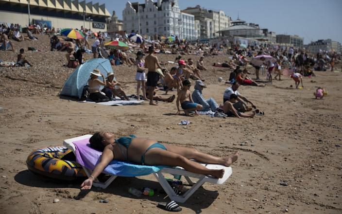 A property in Brighton was one of the biggest risers in price - Dan Kitwood/Getty Images