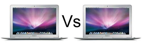 MacBook Air 2010 vs MacBook Air 2011