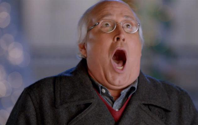 during his 30 year plus career in comedy and acting chevy chase has created a few characters that have been able to stand the test of time and one of - Old Navy Christmas Commercial