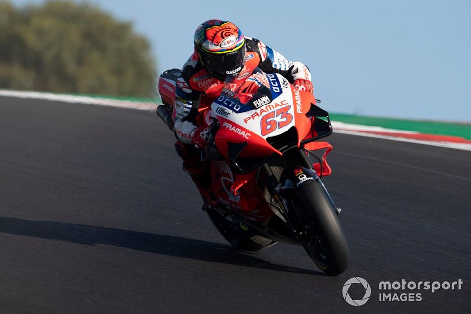 "P15 Francesco Bagnaia, Pramac Racing<span class=""copyright"">Gold and Goose / Motorsport Images</span>"