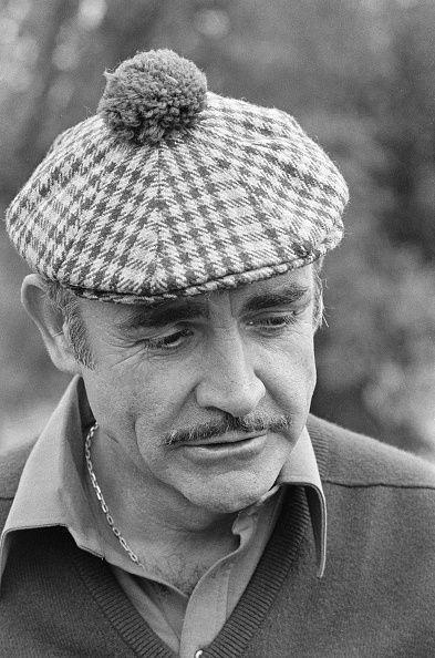 <p>Connery during the Trophée Lancôme golf tournament in 1976. </p>