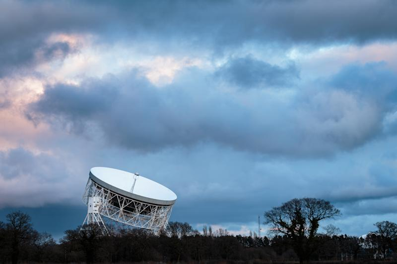 Jodrell Bank Radio Telescope, UNESCO world heritage site