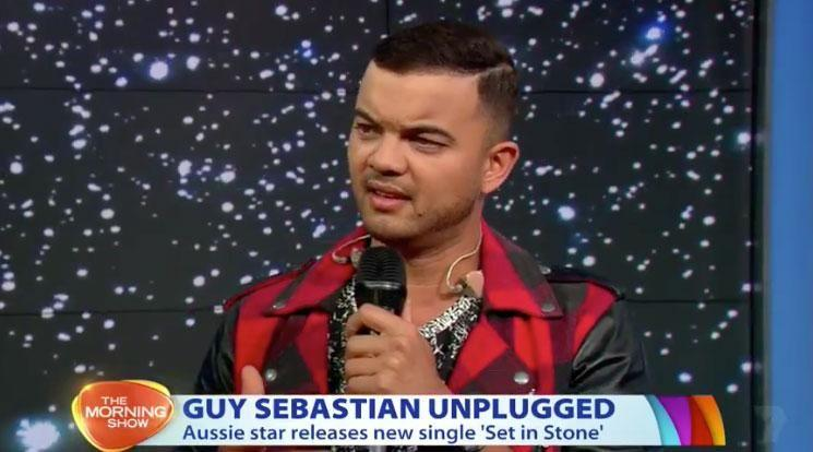 Guy Sebastian opened up on The Morning Show about the devastating inspiration behind his song Set In Stone. Source: Channel Seven