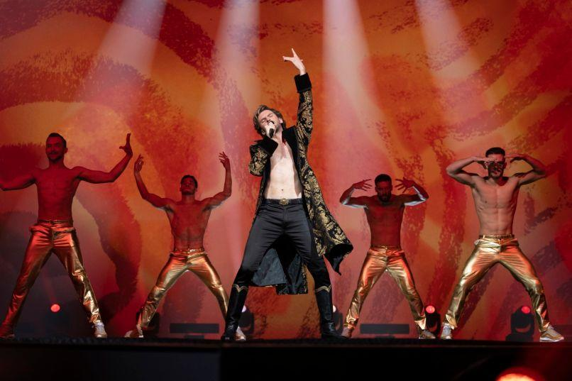 Eurovision Song Contest Story of Fire Saga