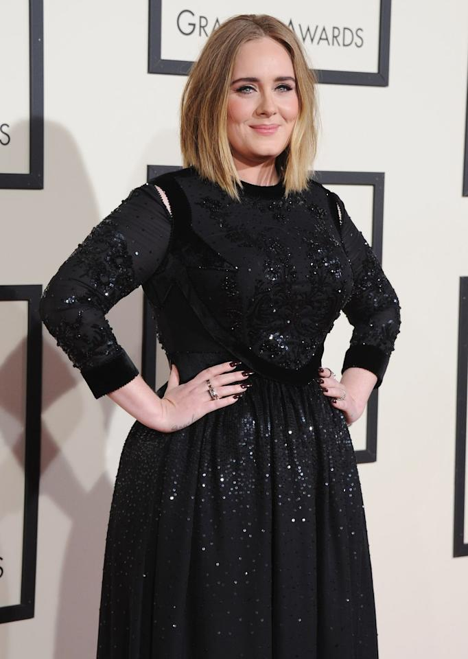 """<p>""""I can slip in and out of [depression] quite easily,"""" Adele told <a href=""""http://www.vanityfair.com/style/2016/10/adele-postpartum-depression-parenting"""" target=""""_blank"""">Vanity Fair</a>. """"I had really bad postpartum depression after I had my son, and it frightened me,"""" she said. """"I didn't talk to anyone about it. I was very reluctant...Four of my friends felt the same way I did, and everyone was too embarrassed to talk about it.""""</p>"""
