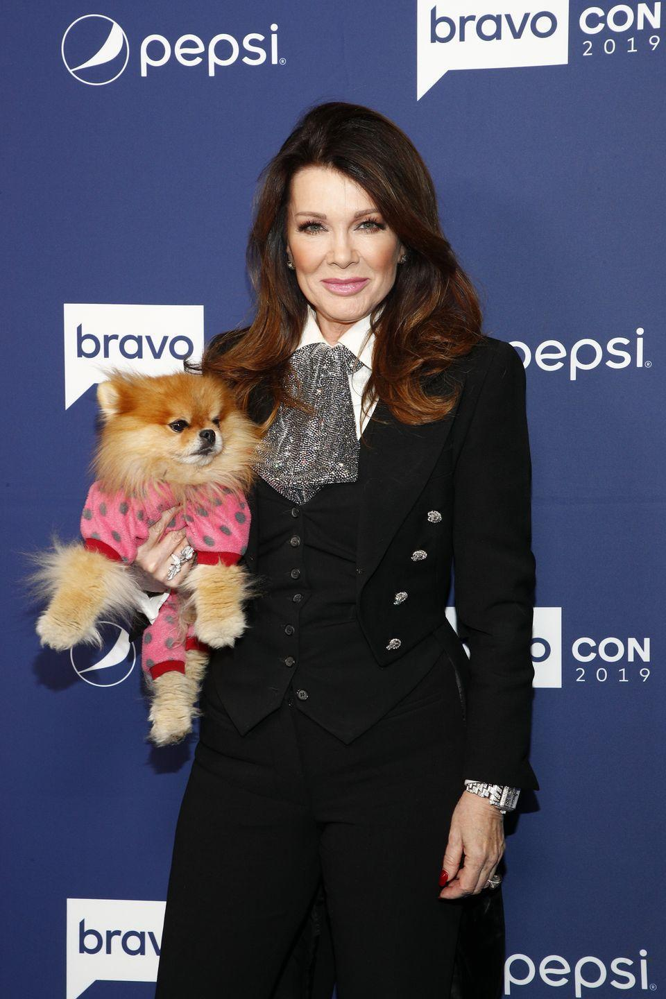 """<p><em>Beverly Hills </em>mainstay Lisa Vanderpump quit the <em>Real Housewives</em> in 2019 after """"PuppyGate""""—the season-long debacle in which a rescue puppy from Vanderpump Dogs (named Lucy Lucy Apple Juice, ICYWW) adopted by co-star Dorit Kemsley ended up in a kill shelter after it was re-homed it to a friend. Lisa's fellow <em>Housewives</em> accused her of planting negative stories about Dorit in the press, which she denied. Lisa slowly distanced herself from the group before stopping filming altogether. Just after Andy Cohen revealed that she wouldn't attend the season 9 reunion taping, LVP <a href=""""https://www.dailymail.co.uk/tvshowbiz/article-7104309/Lisa-Vanderpump-quits-Real-Housewives-Beverly-Hills-skipping-reunion.html"""" rel=""""nofollow noopener"""" target=""""_blank"""" data-ylk=""""slk:announced"""" class=""""link rapid-noclick-resp"""">announced </a>that she was quitting the show for good.</p>"""