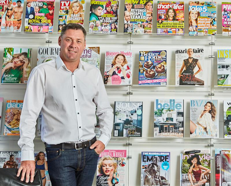 Bauer Australia CEO Brendon Hill. (AAP Image/Supplied by Thrive PR)