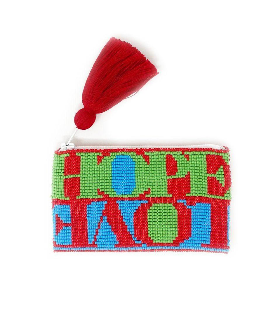 """<p>ibumovement.com</p><p><strong>$32.00</strong></p><p><a href=""""https://ibumovement.com/collections/ali4ibu-holiday-2020/products/small-hope-love-beaded-pouch"""" rel=""""nofollow noopener"""" target=""""_blank"""" data-ylk=""""slk:Shop Now"""" class=""""link rapid-noclick-resp"""">Shop Now</a></p>"""