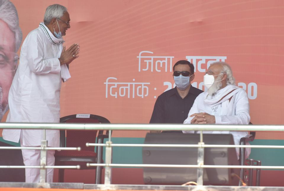 NDA meeting underway in presence of Rajnath, Nitish to be declared leader and return as CM