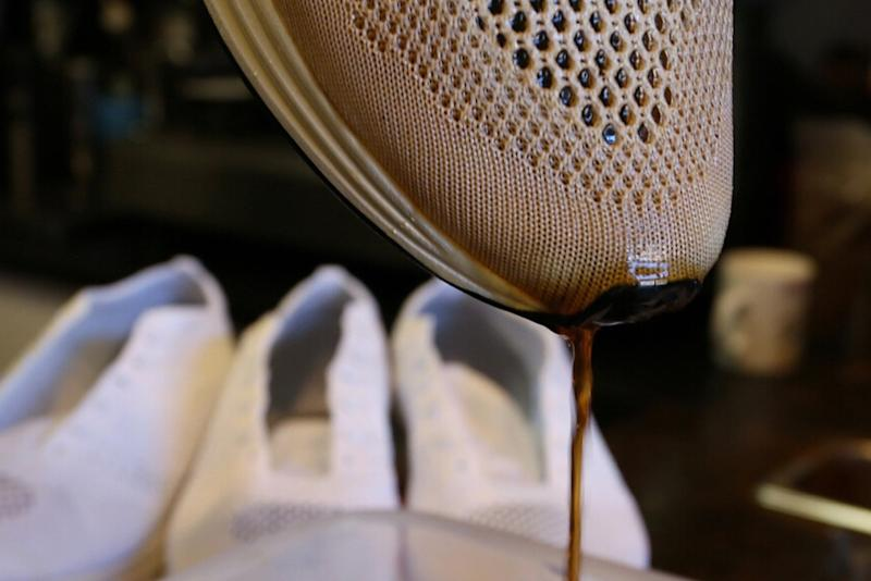 10dd49a44a7 Why Are These Brand-New Nike Shoes Getting Dipped in Coffee