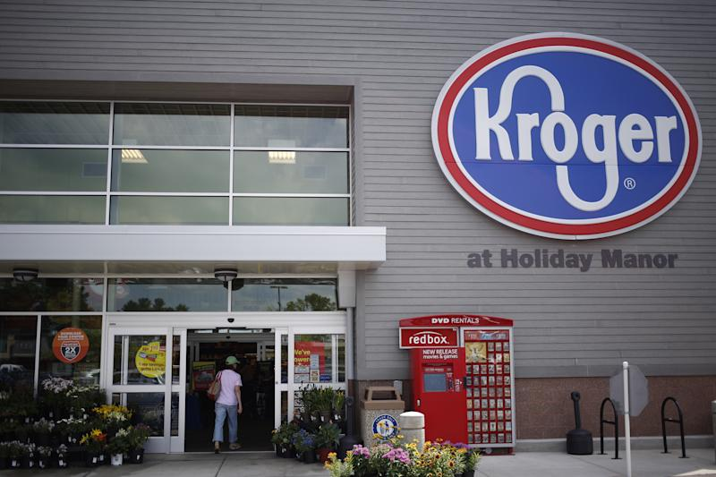Supermarket chain Kroger's sales beat, but forecast disappoints