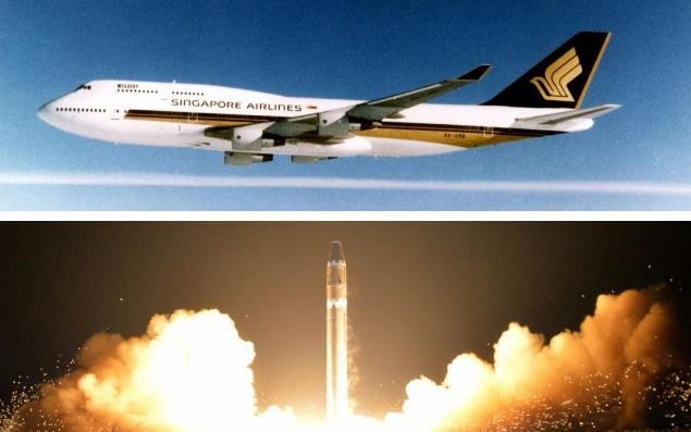 North Korea ballistic missile tests forced Singapore Airlines to reroute flights from Seoul