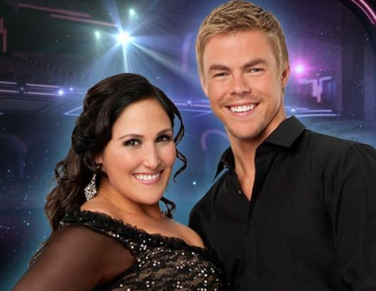 "Ricki Lake, talk show host and actress, joins three-time champ Derek Hough, who returns for his eighth season. The former ""Hairspray"" star, who has long struggled with her weight, has kept fans apprised of her every move in rehearsals, tweeting photos with Hough and other cast members and revealing that she has already lost 5 inches on her waist"