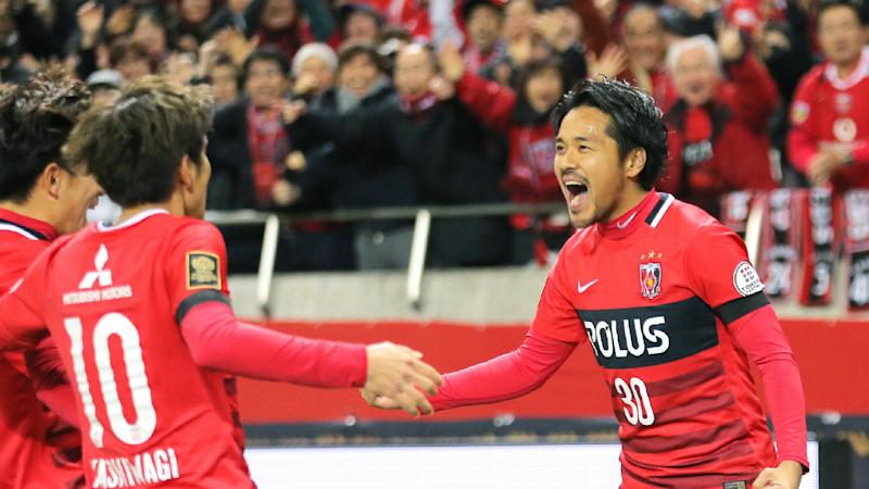Shinzo Koroki Urawa Red Diamonds v Kashima Antlers J.League 03122016