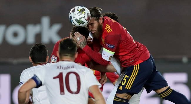 Spain, Germany hold on for Nations League wins