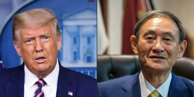 """In a phone call, US President Donald Trump discussed with newly elected Japanese Prime Minister Yoshihide Suga a """"free and open Indo-Pacific"""" region, which is increasingly dominated by China"""