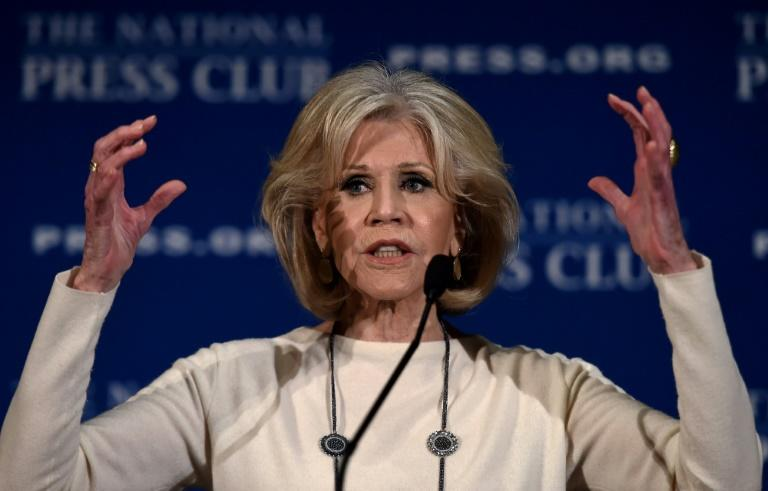 "Jane Fonda conluded that whether Trump won re-election next year or a Democrat took the White House, activists ""still have to be in the streets holding their feet to the fire"""
