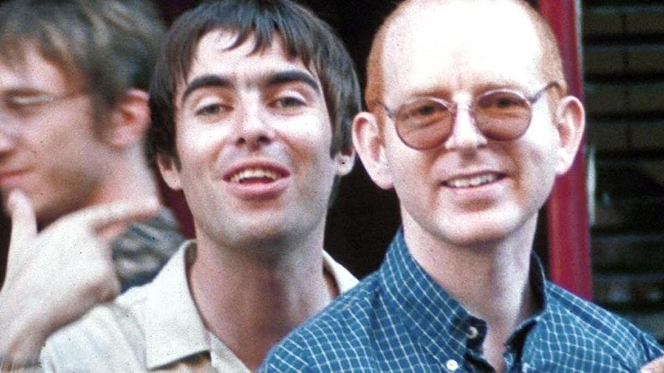 Liam Gallagher and Alan McGee