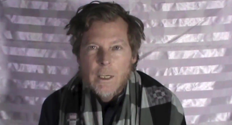 Video from the Taliban shows Australian Timothy Weeks making a statement on camera while in captivity.