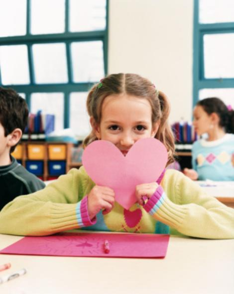 What do you do with all of those Valentine's Day cards your kid brings home?
