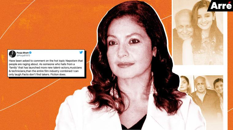 Hi Pooja Bhatt, You Are a Beneficiary of Nepotism, Whether You Acknowledge It Or Not