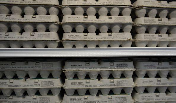 """<p>Trader Joe's has a huge selection of eggs—from cage-free and free range to organic and fertile. The <a href=""""https://www.traderjoes.com/faqs/general-information?categoryid=2"""" rel=""""nofollow noopener"""" target=""""_blank"""" data-ylk=""""slk:company writes"""" class=""""link rapid-noclick-resp"""">company writes</a> that fertile eggs are """"laid by hens in contact with roosters."""" Interesting.</p>"""