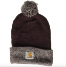 """<p><strong>Carhartt</strong></p><p>amazon.com</p><p><strong>$29.99</strong></p><p><a href=""""https://www.amazon.com/dp/B07S6ZK8PR?tag=syn-yahoo-20&ascsubtag=%5Bartid%7C2141.g.37607750%5Bsrc%7Cyahoo-us"""" rel=""""nofollow noopener"""" target=""""_blank"""" data-ylk=""""slk:Shop Now"""" class=""""link rapid-noclick-resp"""">Shop Now</a></p><p>A tried and true brand, Carhartt's hats never disappoint. This one is warm and stylish, currently sold in wine, navy, and gray colors.</p>"""