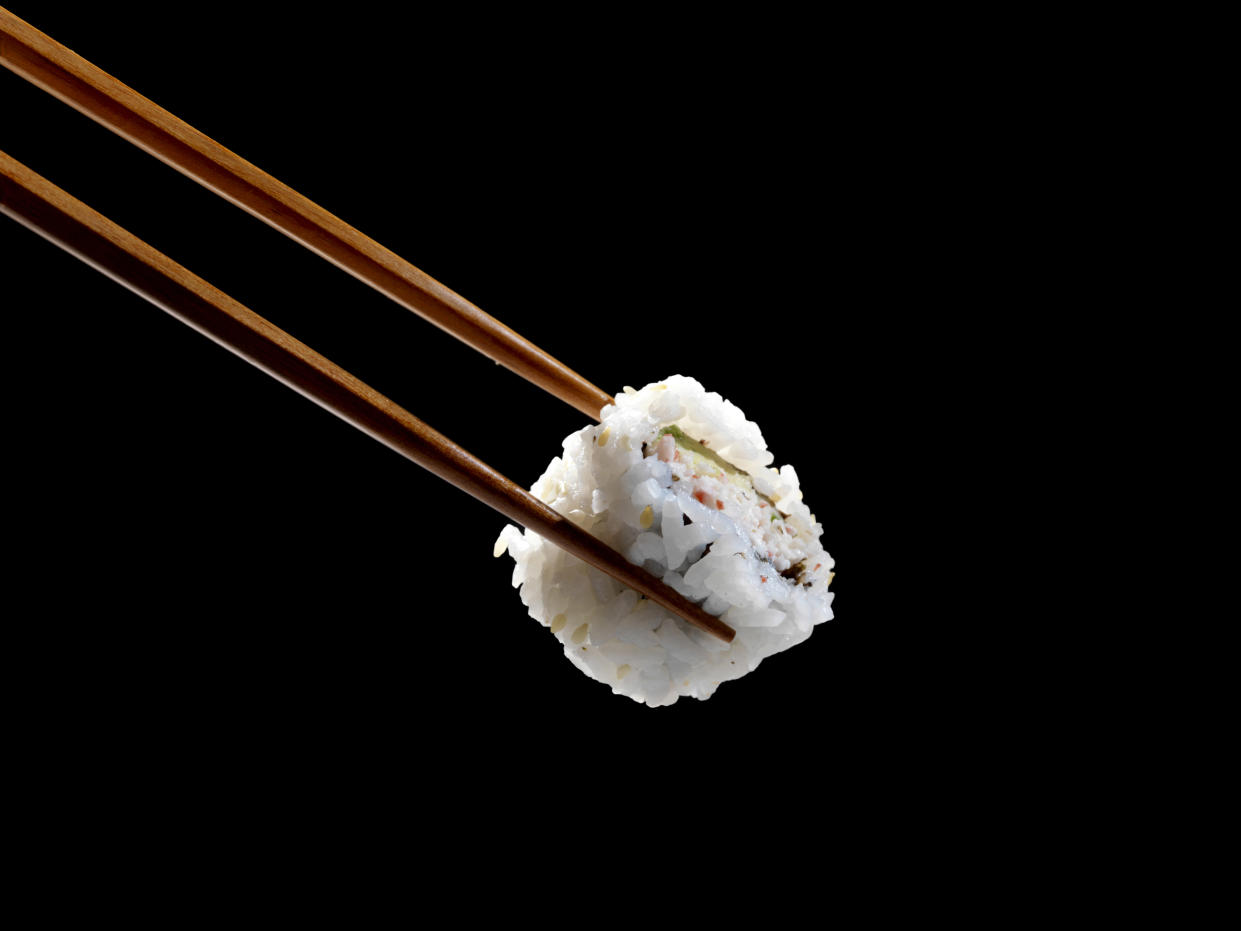 Rice, a sushi staple, can contain high levels of arsenic. (Stock, Getty Images)