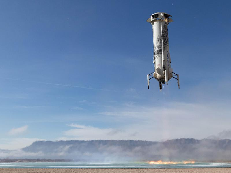 Blue Origin Image 4 - NS12 6th Booster Landing