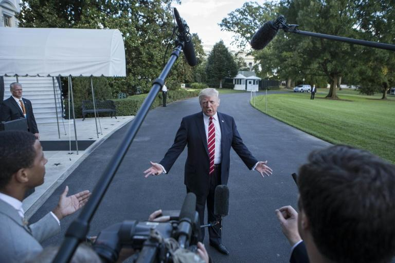 "At loggerheads with much of the US news media, Trump said he would be awarding ""Fake News Awards"" to the ""most corrupt & biased of the Mainstream Media"""