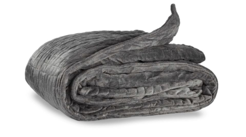 grey Weighted blanket