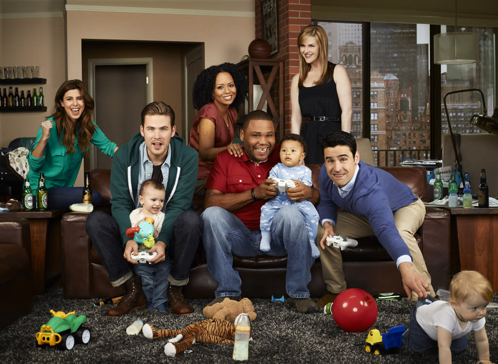 "<b>""Guys with Kids"" (Fall Comedy) </b><br><br>From Emmy winner and executive producer Jimmy Fallon comes a new comedy about three thirty-something dads trying to hold on to their youth, while holding onto their new babies' hands. Easy, right? Thankfully, Chris (Jesse Bradford, ""The West Wing""), Nick (Zach Cregger, ""Friends with Benefits"") and Gary (Anthony Anderson, ""Law & Order"") have each other to help navigate their survival as new dads, while still trying desperately to remain dudes. Balancing work or staying at home, painfully married or happily divorced, they know that taking care of the little ones while maintaining a social life is a daily challenge. Whether it's hosing the little squirt down in the kitchen sink or hitting the bar strapped with a baby björn, these guys are on a roller-coaster adventure – parenting like you (and they) have never seen before. Also starring are Jamie Lynn Sigler (""The Sopranos"") and Tempestt Bledsoe (""The Cosby Show""). Someone once said it is much easier to become a father than to be one. These three guys are about to find out just how true that is."