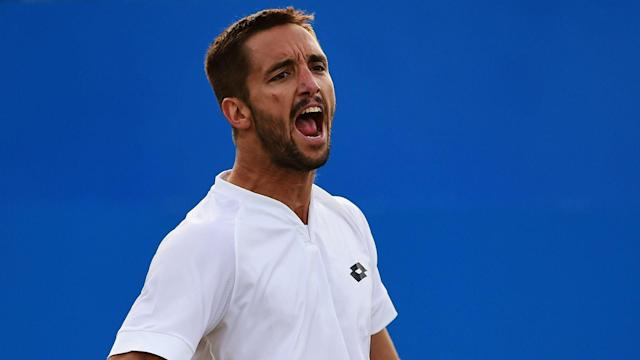 Viktor Troicki was expected to overcome Laslo Djere, but squandered a 5-0 first-set lead before being bundled out in Budapest.