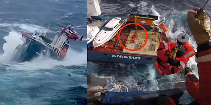 ship rescue Norway