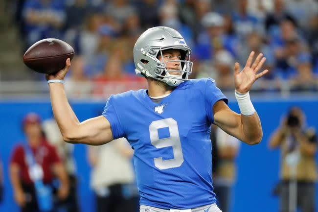 Detroit QB Stafford goes on reserve/COVID-19 list