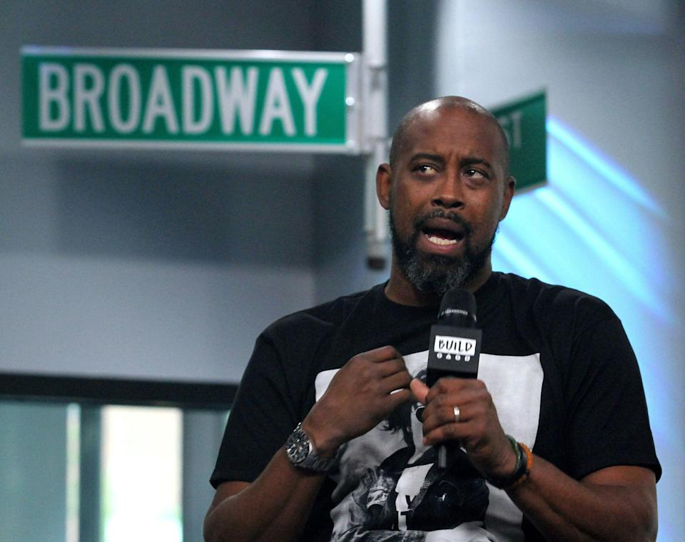 NEW YORK, NY - MAY 04:  Kenny Anderson appears to promote 'Mr Chibbs' during the BUILD Series at Build Studio on May 4, 2017 in New York City.  (Photo by Donna Ward/Getty Images)