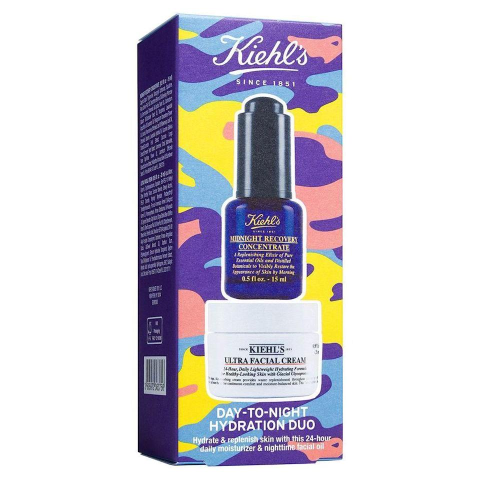 """<p><strong>KIEHL'S SINCE 1851</strong></p><p>nordstrom.com</p><p><a href=""""https://go.redirectingat.com?id=74968X1596630&url=https%3A%2F%2Fwww.nordstrom.com%2Fs%2Fkiehls-since-1851-day-to-night-hydration-duo-52-value%2F5582156&sref=https%3A%2F%2Fwww.menshealth.com%2Fstyle%2Fg33510339%2Fnordstrom-anniversary-sale-2020%2F"""" rel=""""nofollow noopener"""" target=""""_blank"""" data-ylk=""""slk:BUY IT HERE"""" class=""""link rapid-noclick-resp"""">BUY IT HERE</a></p><p><del><strong>$52</strong></del> <strong>$34 (35% off)</strong></p><p>With a hydrating facial cream and effective overnight concentrate, this dynamic duo from Kiehl's is a sure-fire way to improve your self-care routine.</p>"""