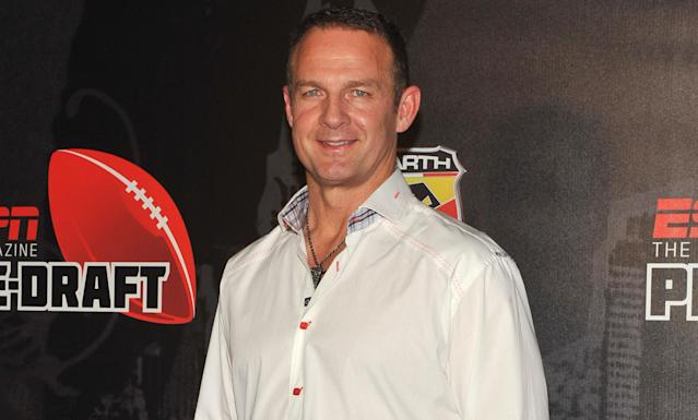 Former NFL running back and ESPN analyst Merril Hoge has joined Your Call Football, where fans call plays. (AP). (Diane Bondareff/AP Images)