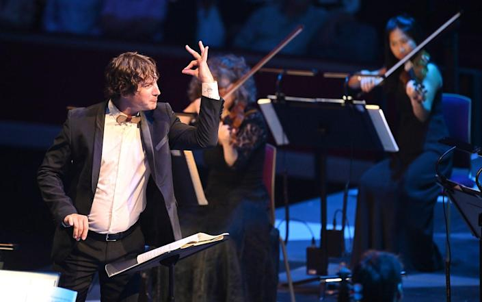 Conductor Maxim Emelyanychev with the Scottish Chamber Orchestra - Chris Christodoulou