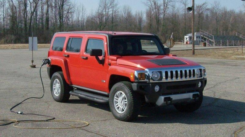 Hummer H3 PHEV by Raser