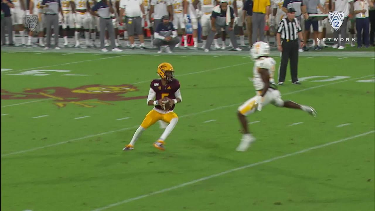 Highlights: Quarterback Jayden Daniels dazzles in Arizona State football's  rout of Kent State