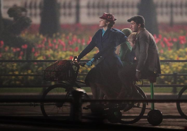 Mary Poppins Returns: le riprese davanti a Buckingham Palace