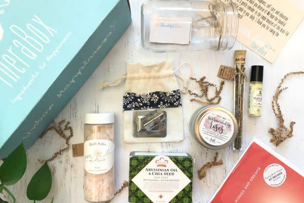Starts at $35/month. Each box includes 5 to 7 organic self-care wellness items and a happiness-boostingactivity to reduce stress. Get <span>20 percent off with code <strong>BLACKFRIYAY</strong></span> at checkout.