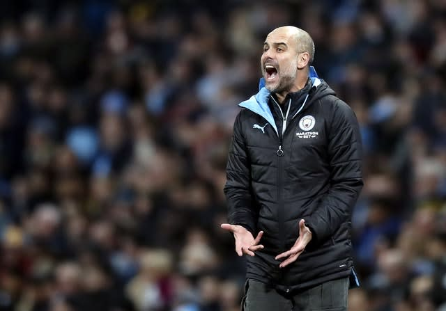 UEFA's decision could have implications for the future of Manchester City manager Pep Guardiola (Martin Rickett/PA)