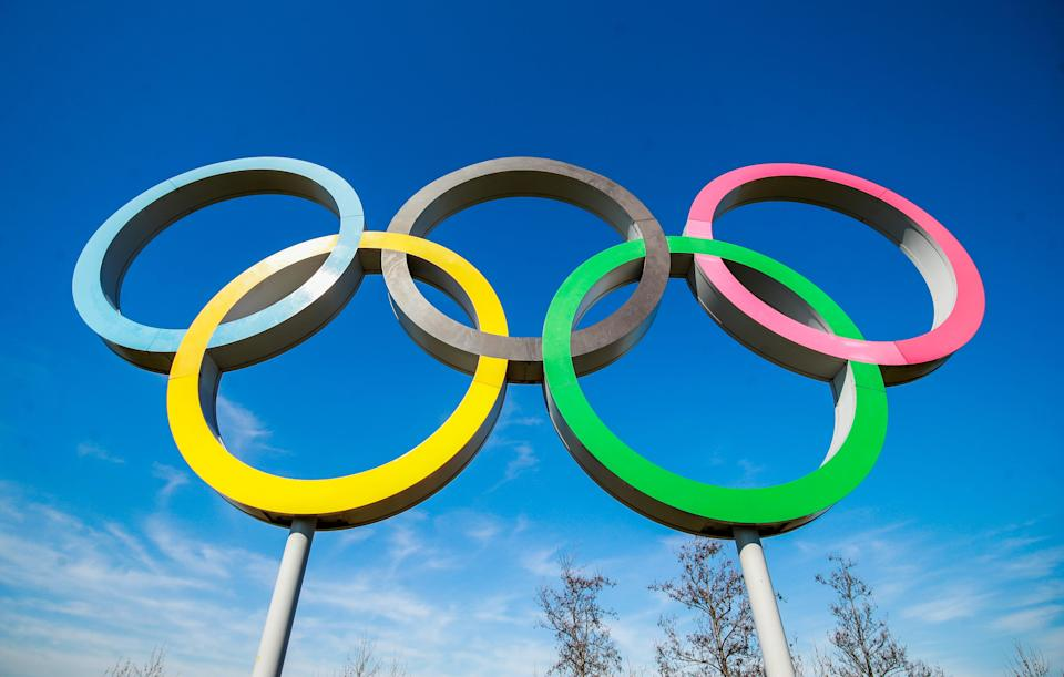 The Olympic Rings (Adam Davy/PA) (PA Wire)