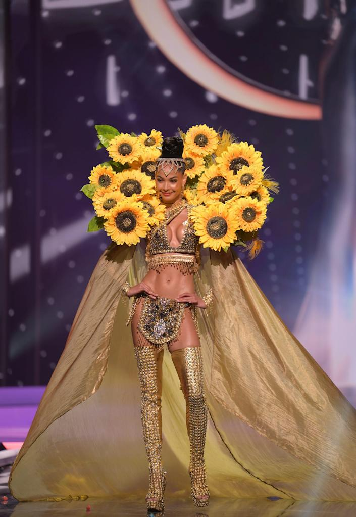 Miss Dominican Republic National Costume Show 2021